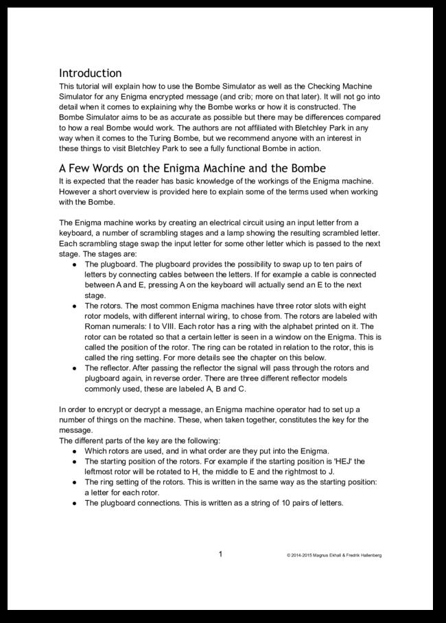 Essay simulator