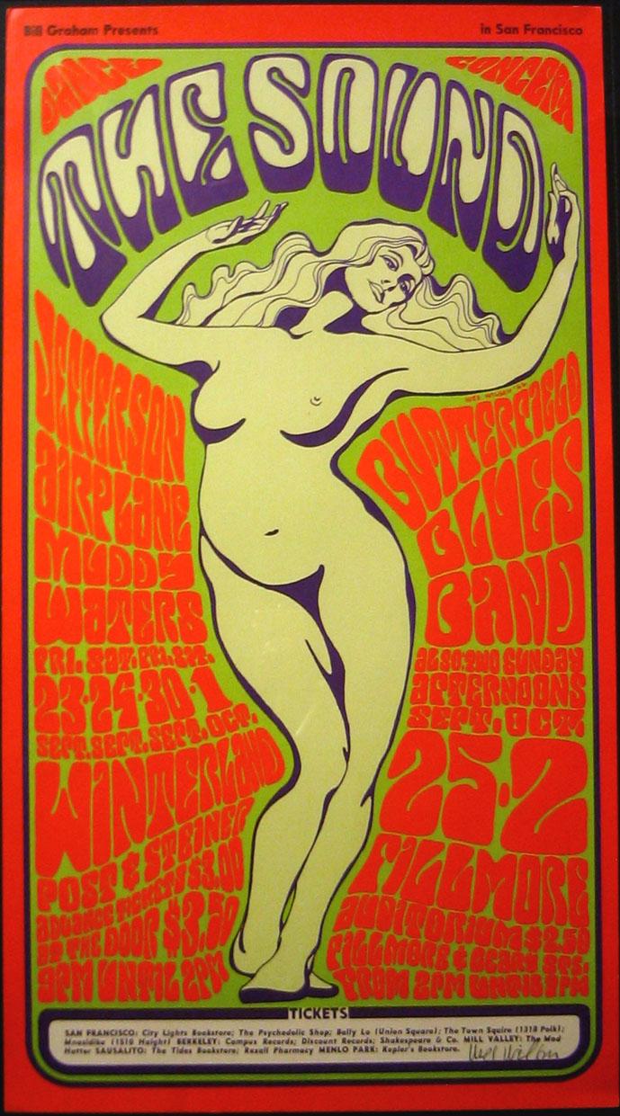 Les affiches psychédéliques Bg29